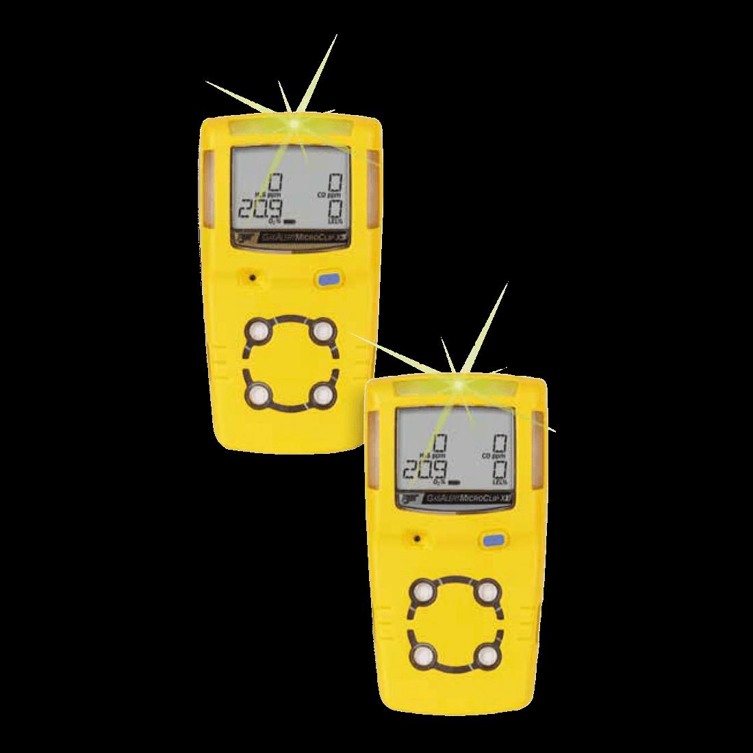 G ALERT MICROCLIP X3 4 GAS LEL/O2/H2S/CO