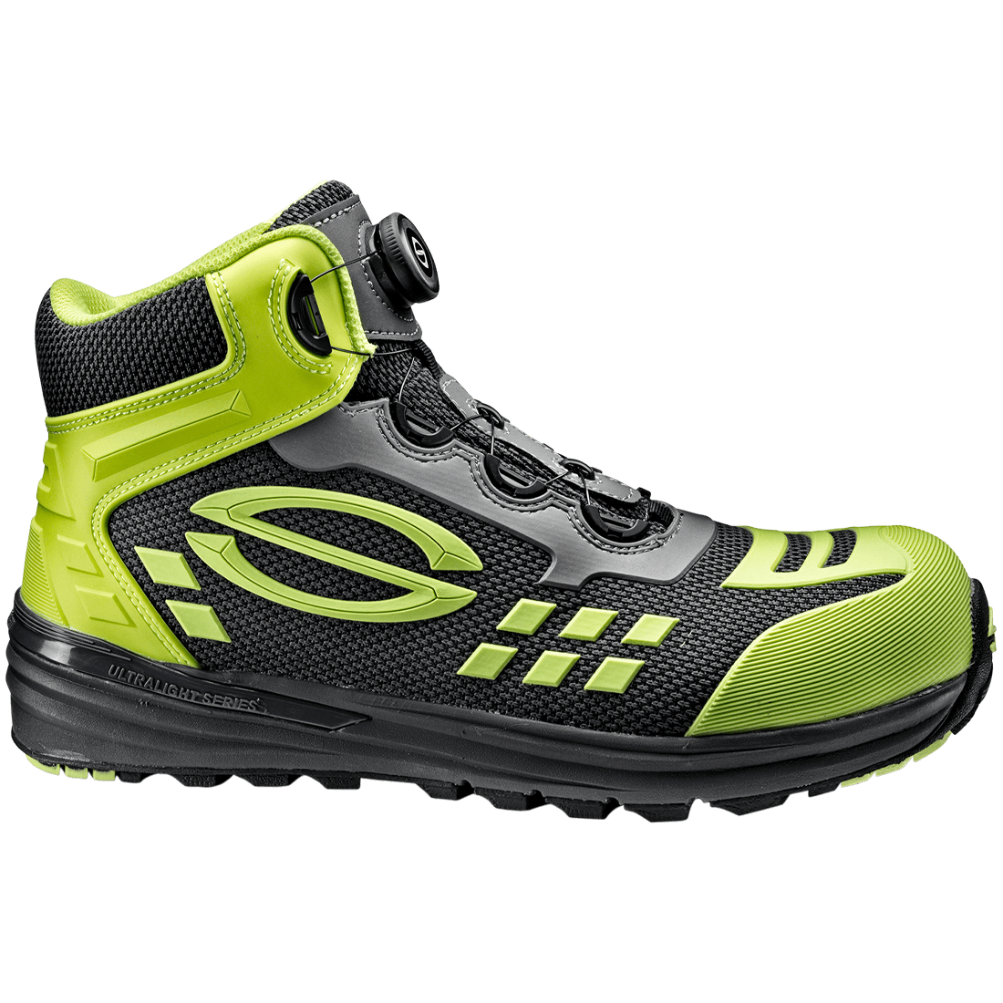 ULTRALIGHT LIME ARMOUR SHOE
